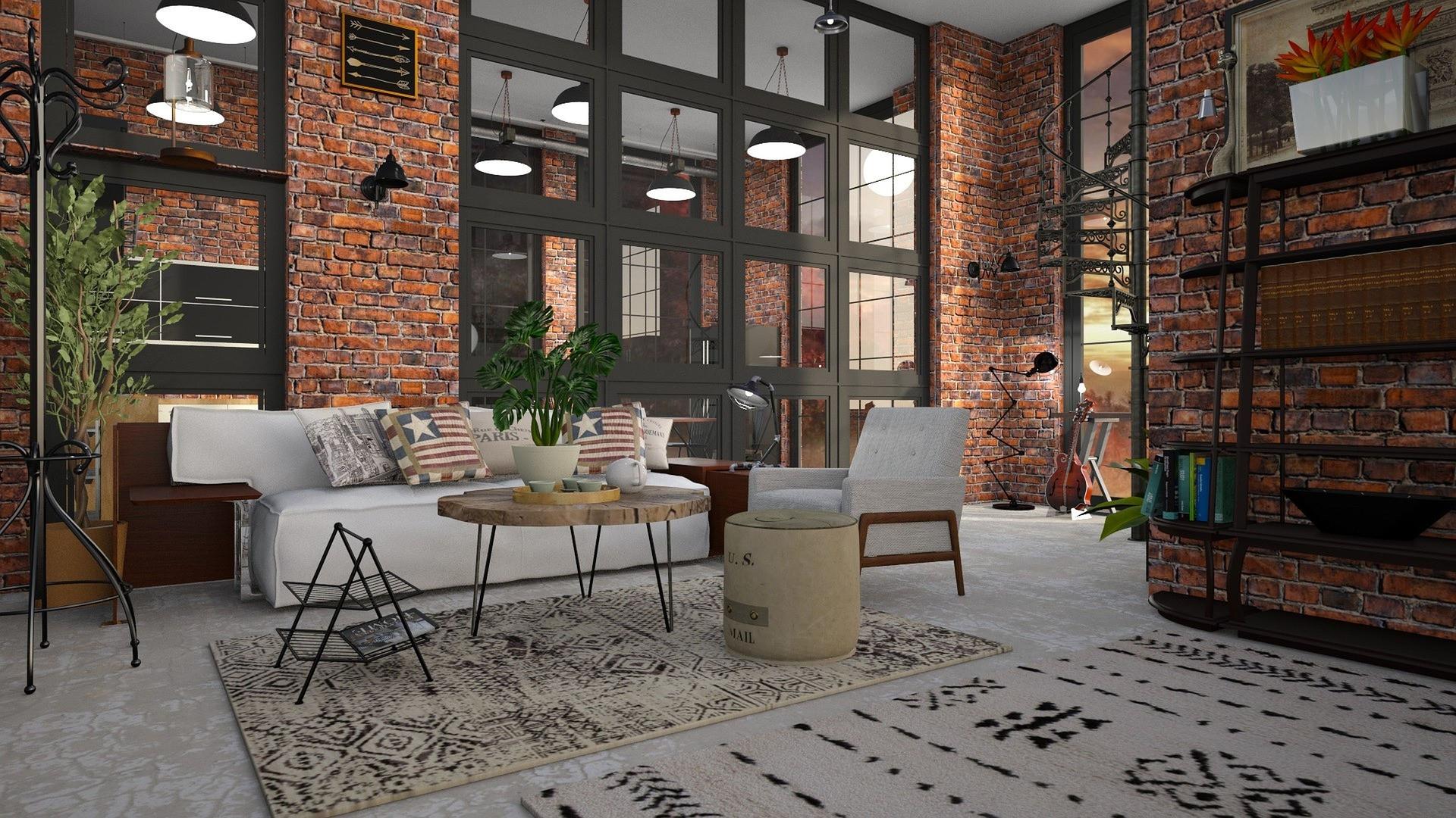 Déco : un intérieur au style industriel